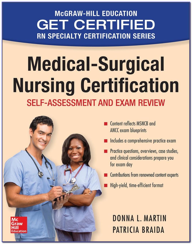 Best Med Surg Certification Study Guide