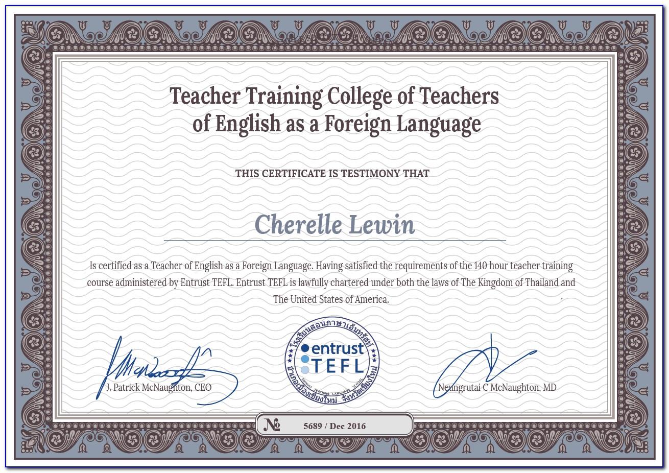 Best Tefl Certification Nyc