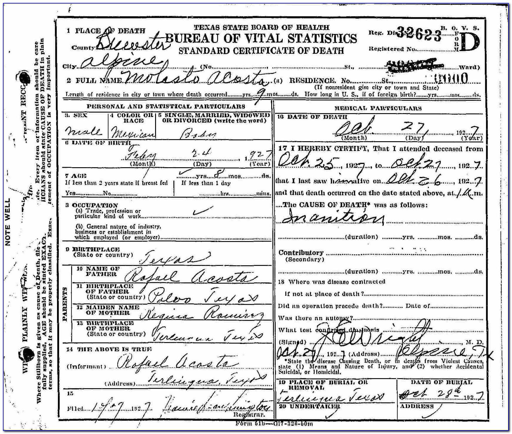 Birth Certificate Office Modesto Ca