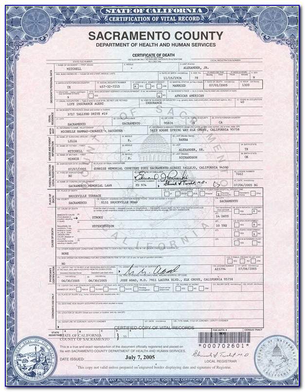 Birth Certificate Replacement East Los Angeles