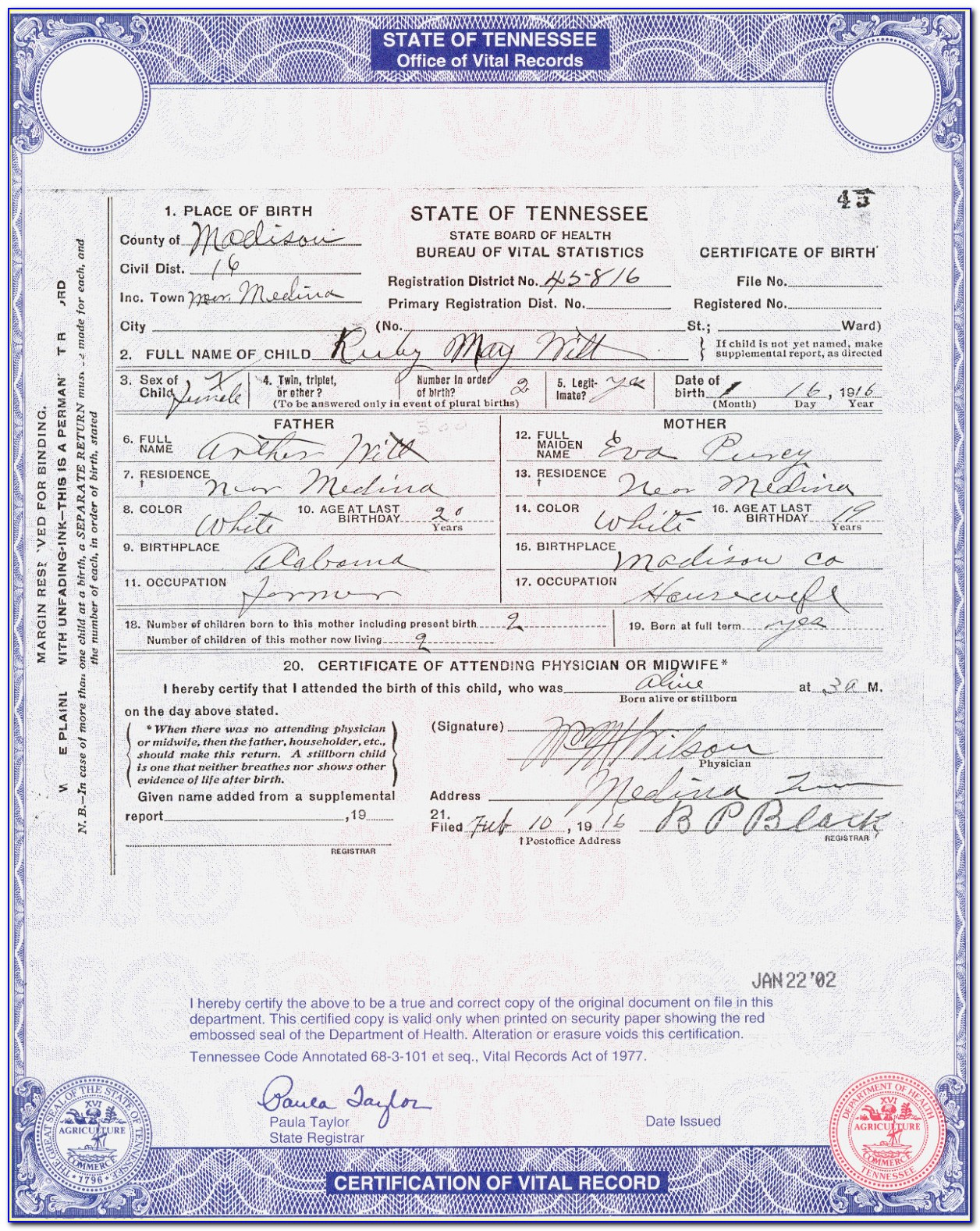 Birth Certificate Replacement Los Angeles Ca