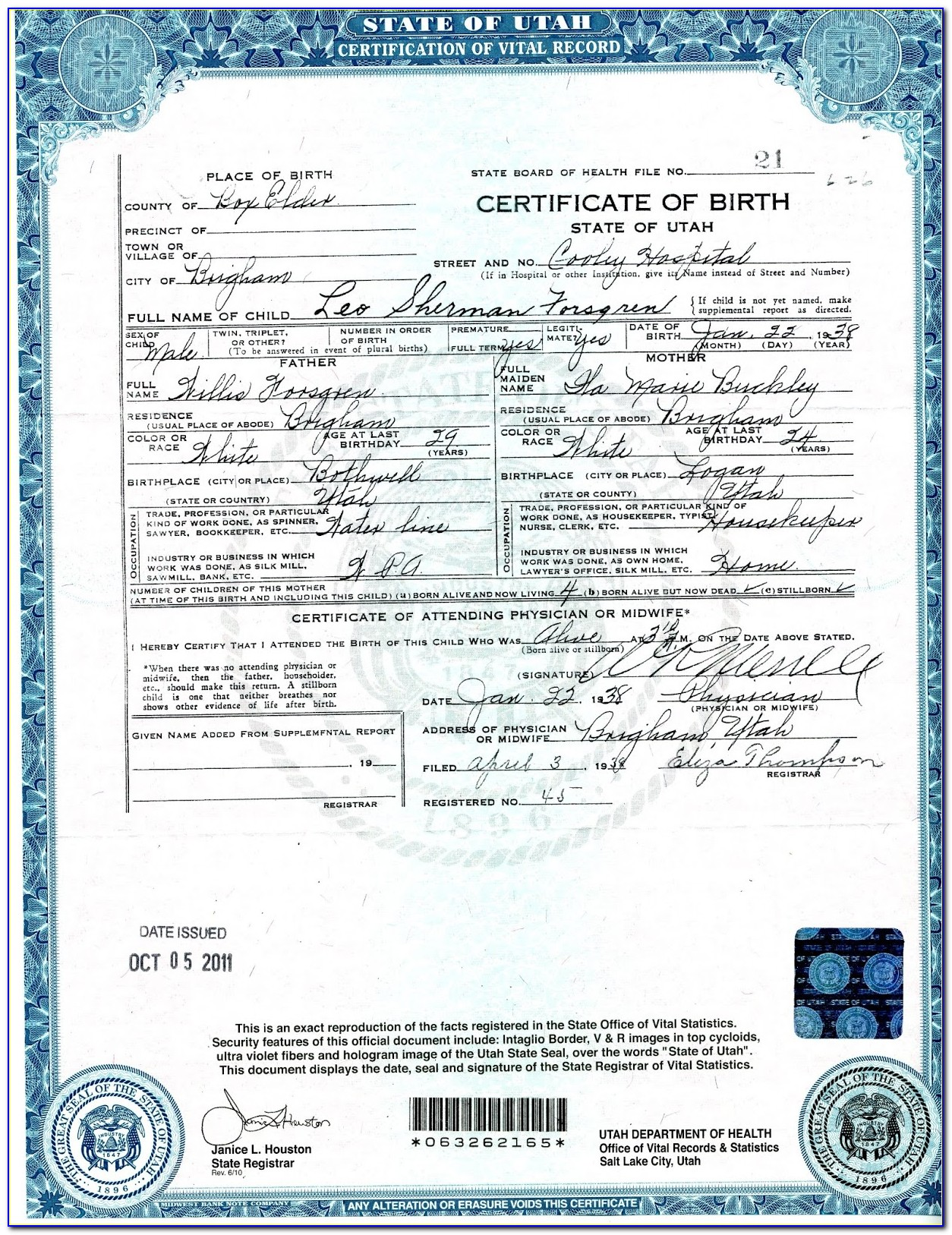 Birth Certificate Replacement Reno Nv