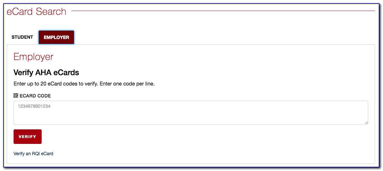 Bls Certification Online Verification