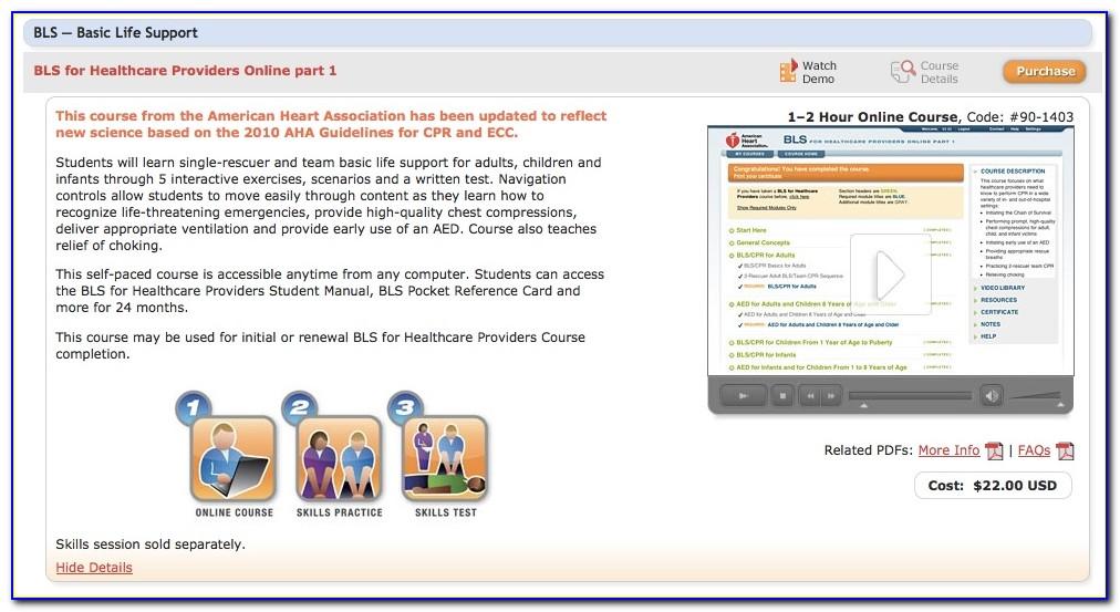 Bls Instructor Certification Verification