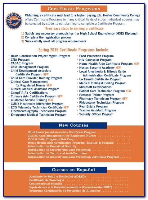 Broward College Certificate Programs