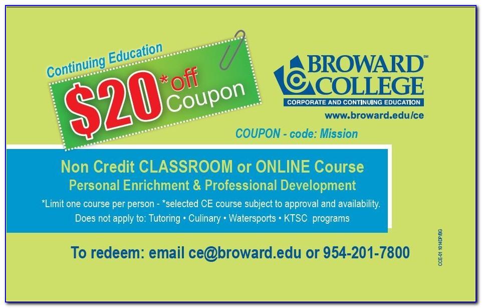 Broward College Technical Certificate Programs