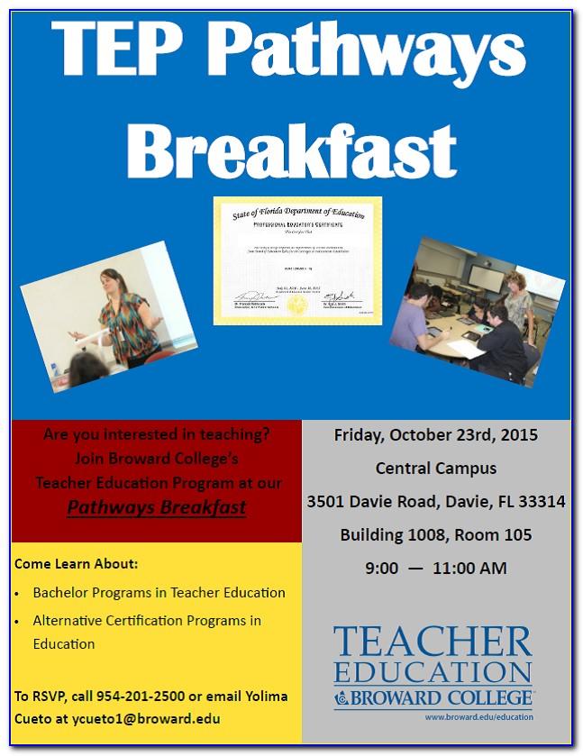 Broward Community College Certificate Programs