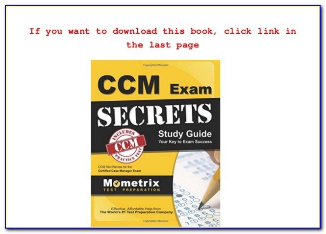 Ccm Certification Made Easy Revised 2nd Edition (paperback)