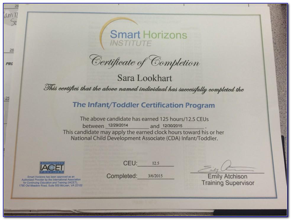 Cda Certification Newark Nj