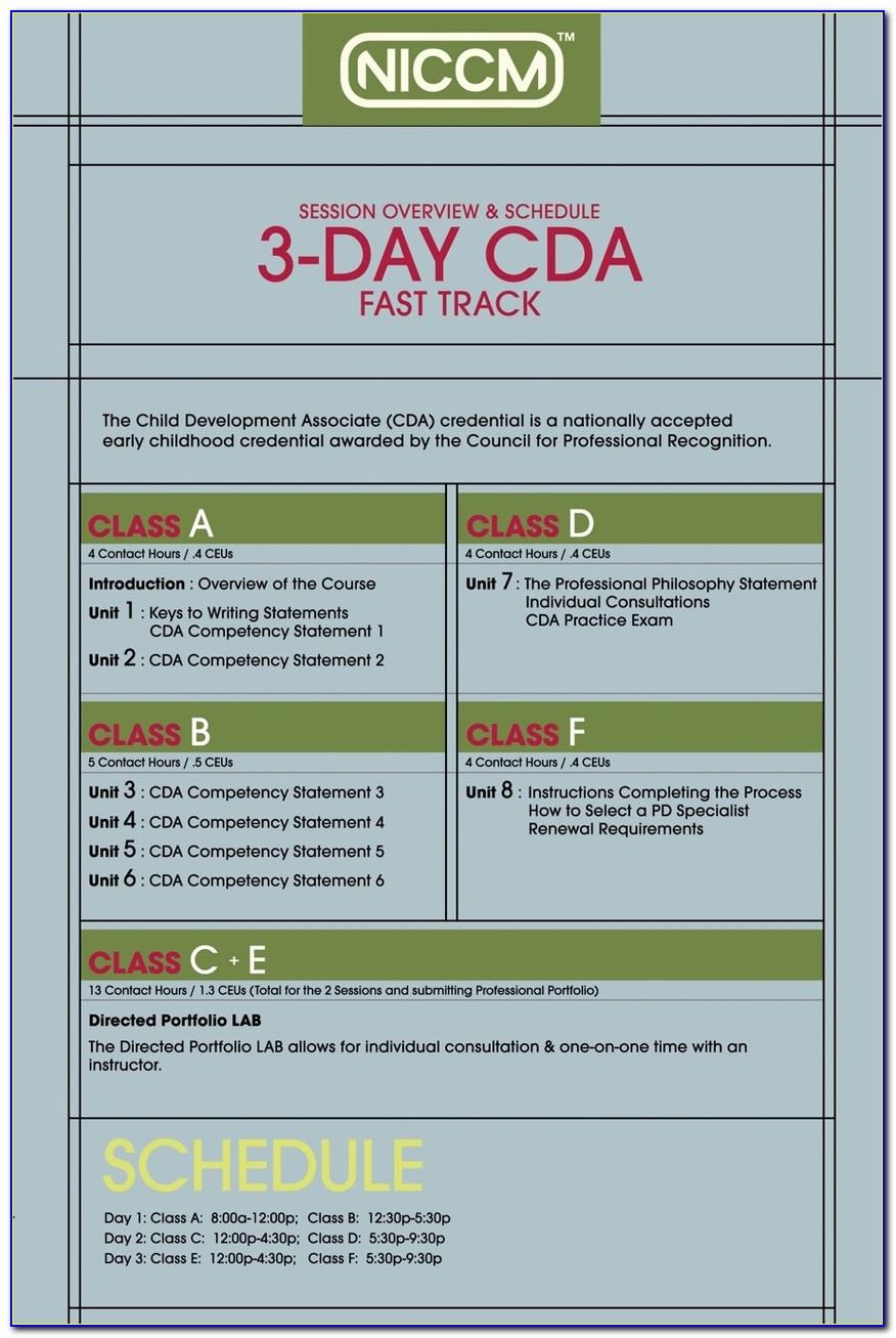 Cda Certification Online Free