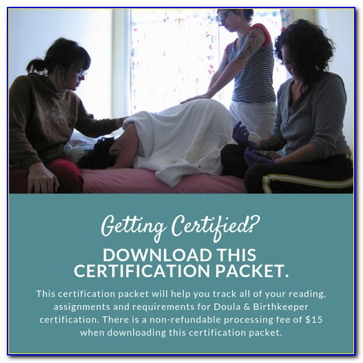 Certified Doula Online