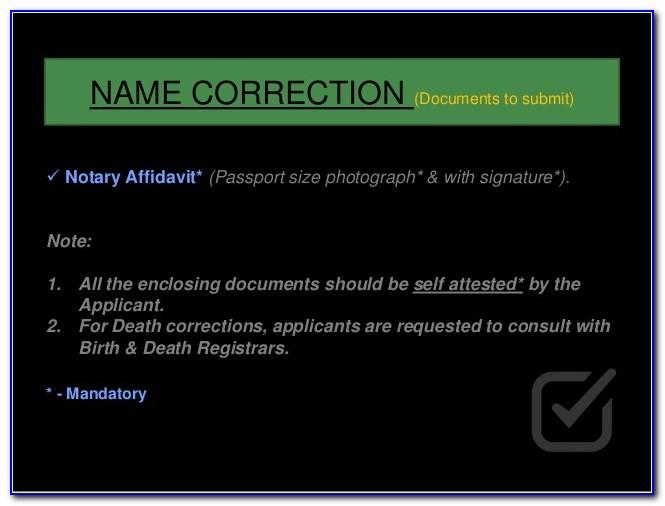 Chennai Corporation Birth Certificate 2018