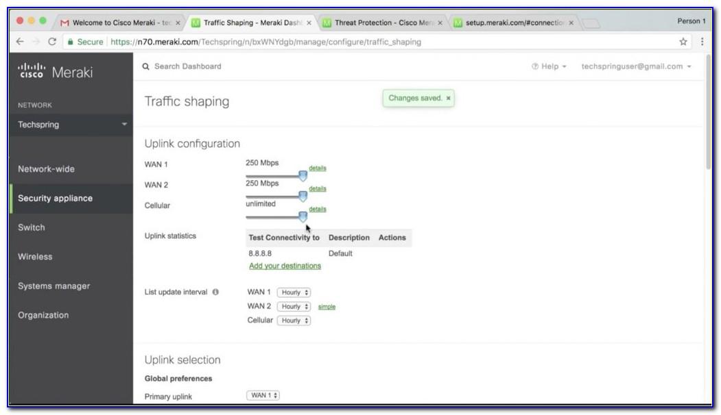 Cisco Meraki Certification Questions