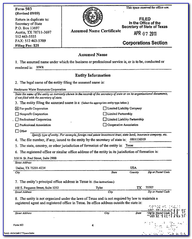 City Of Dallas Certificate Of Occupancy Form