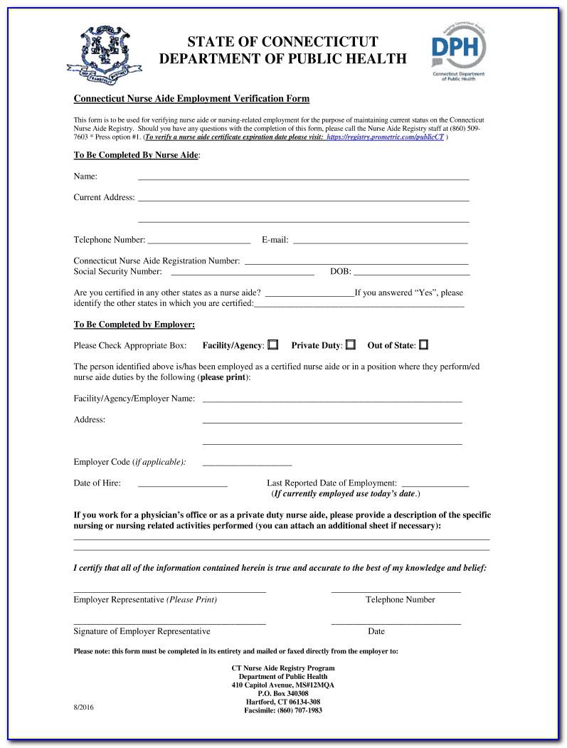 Cna Certification Ct Lookup