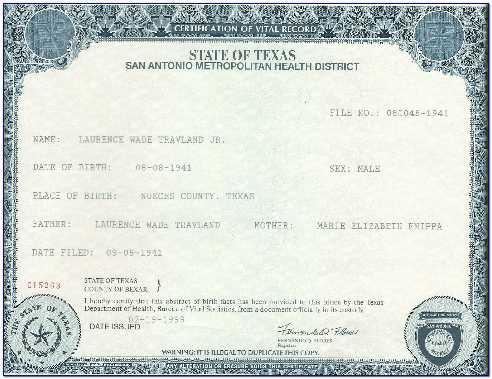 Copy Of Birth Certificate Pakistan