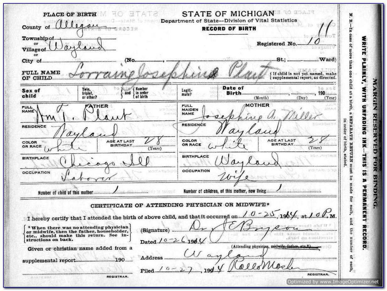 Copy Of Birth Certificate Reno Nv