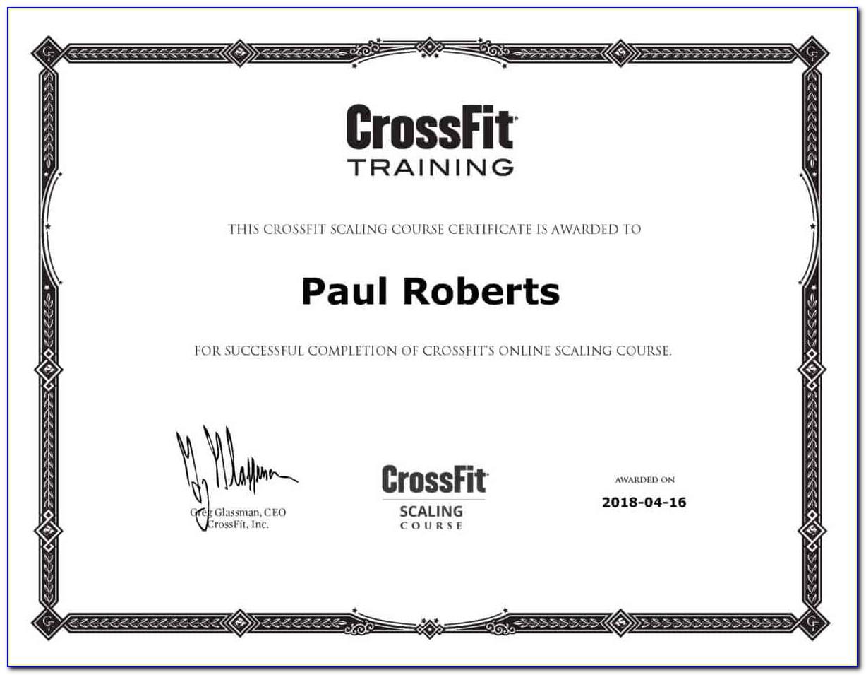 Crossfit Trainer Certification India