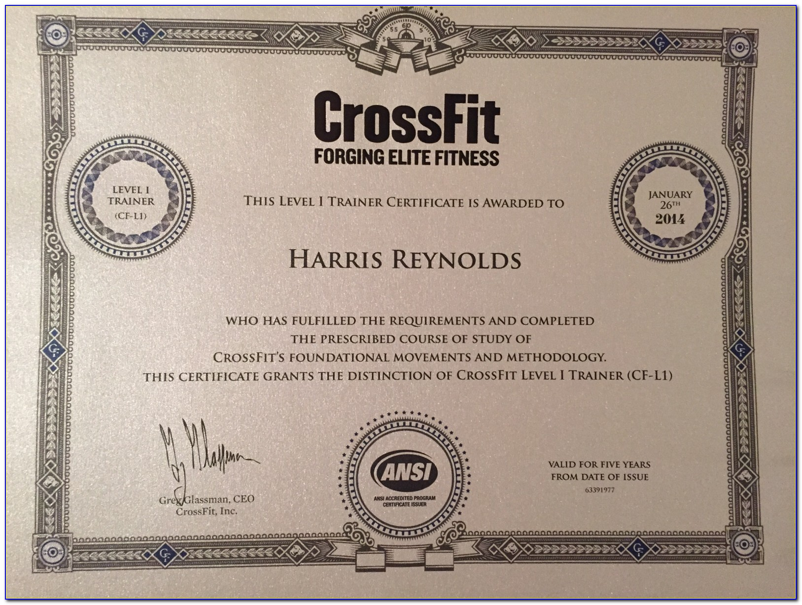 Crossfit Trainer Certification Online