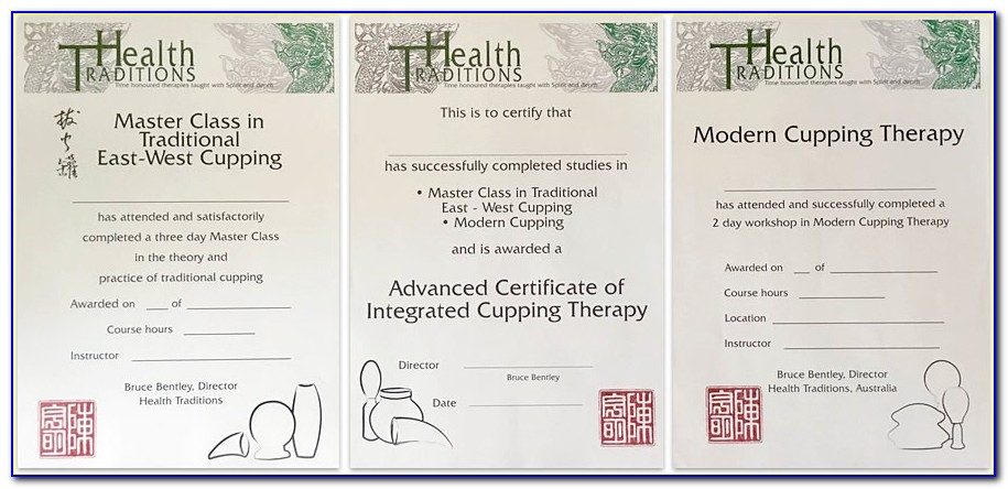 Cupping Therapy Certification Courses