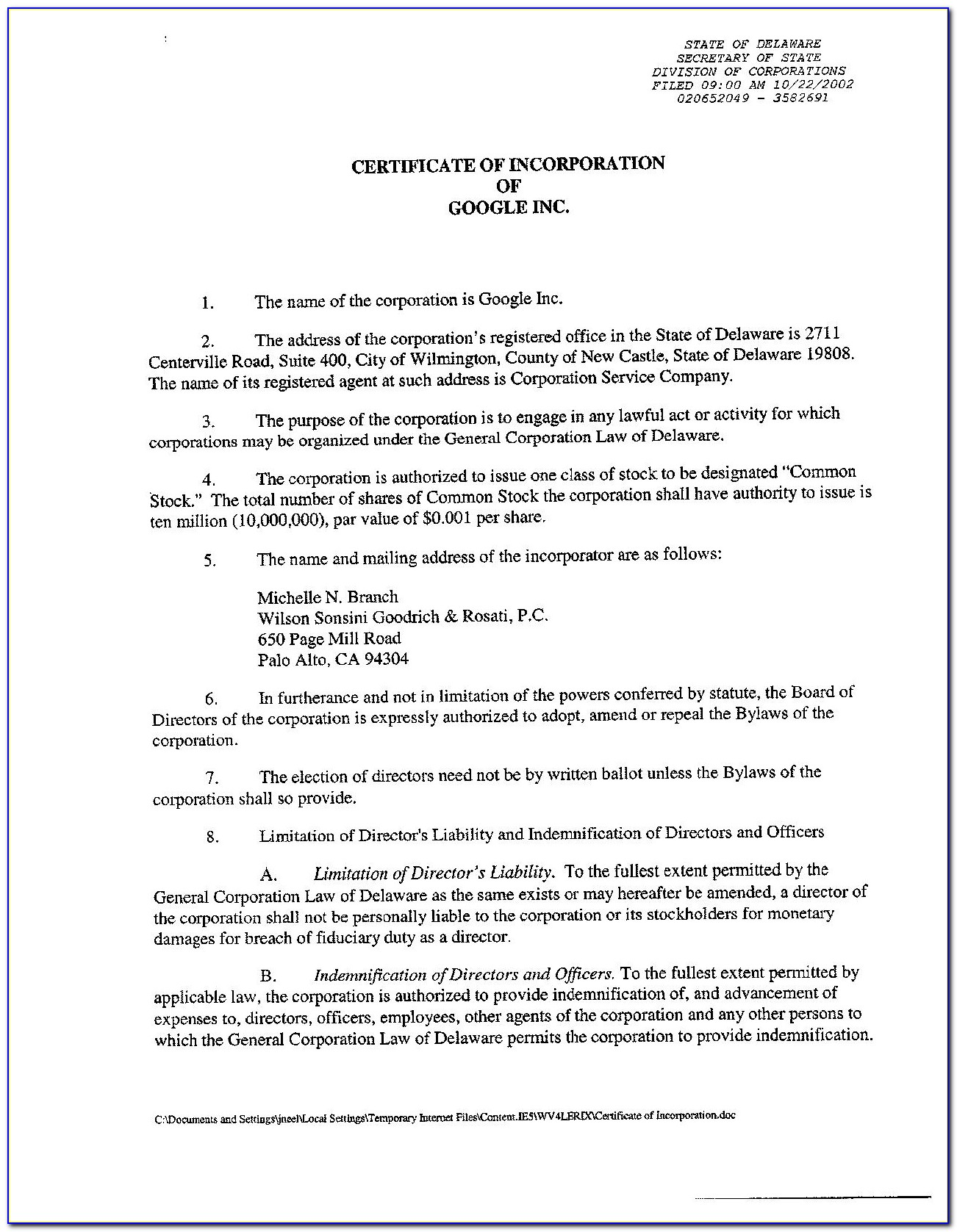 Delaware Llc Act Certificate Of Formation