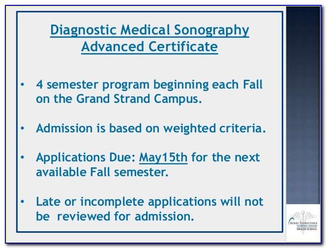 Diagnostic Medical Sonography Certificate Programs Florida