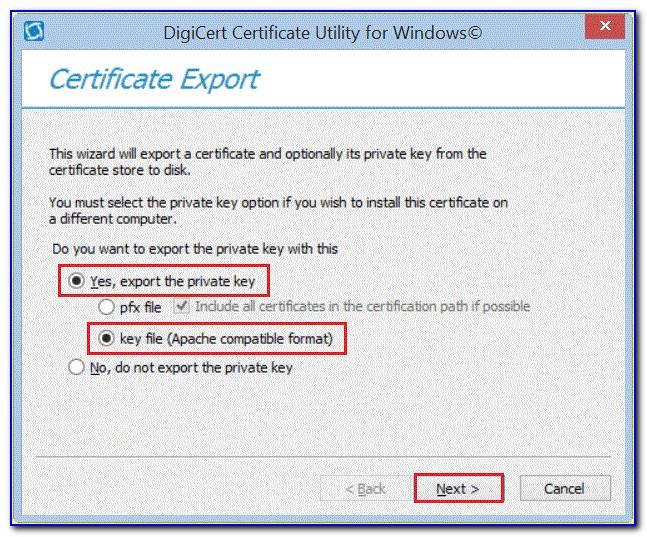 Digicert Intermediate Certificate Pem