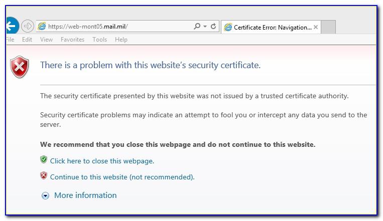 Dod Pki Certificate Authority