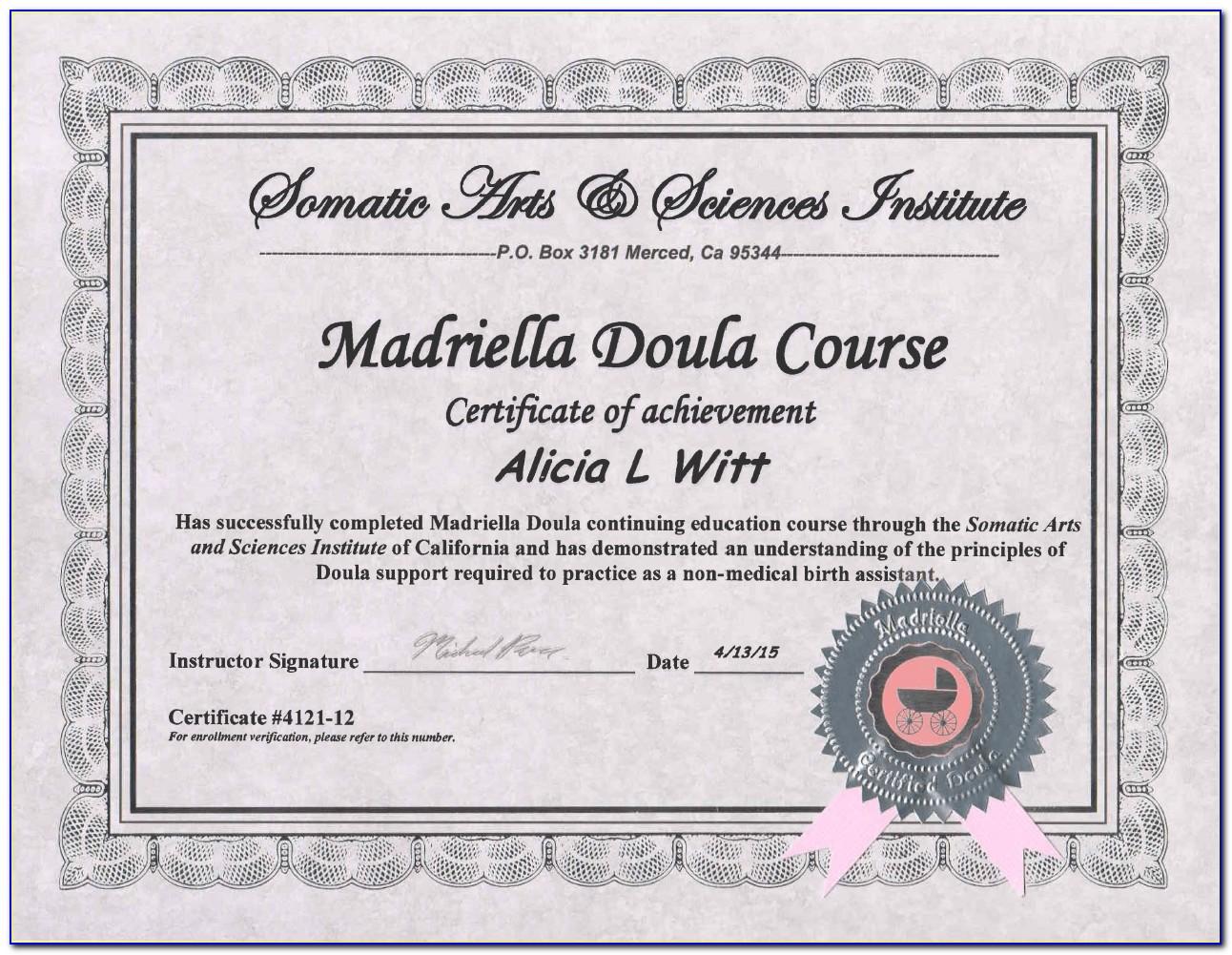 Doula Classes Online