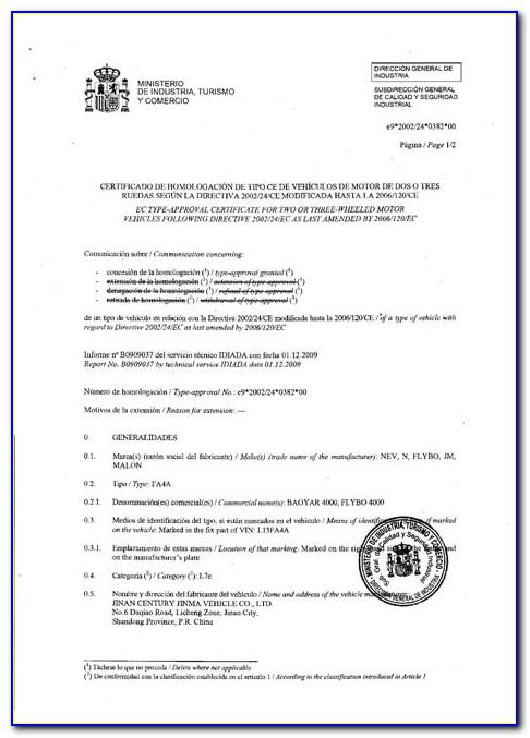 Eec Certification Ma