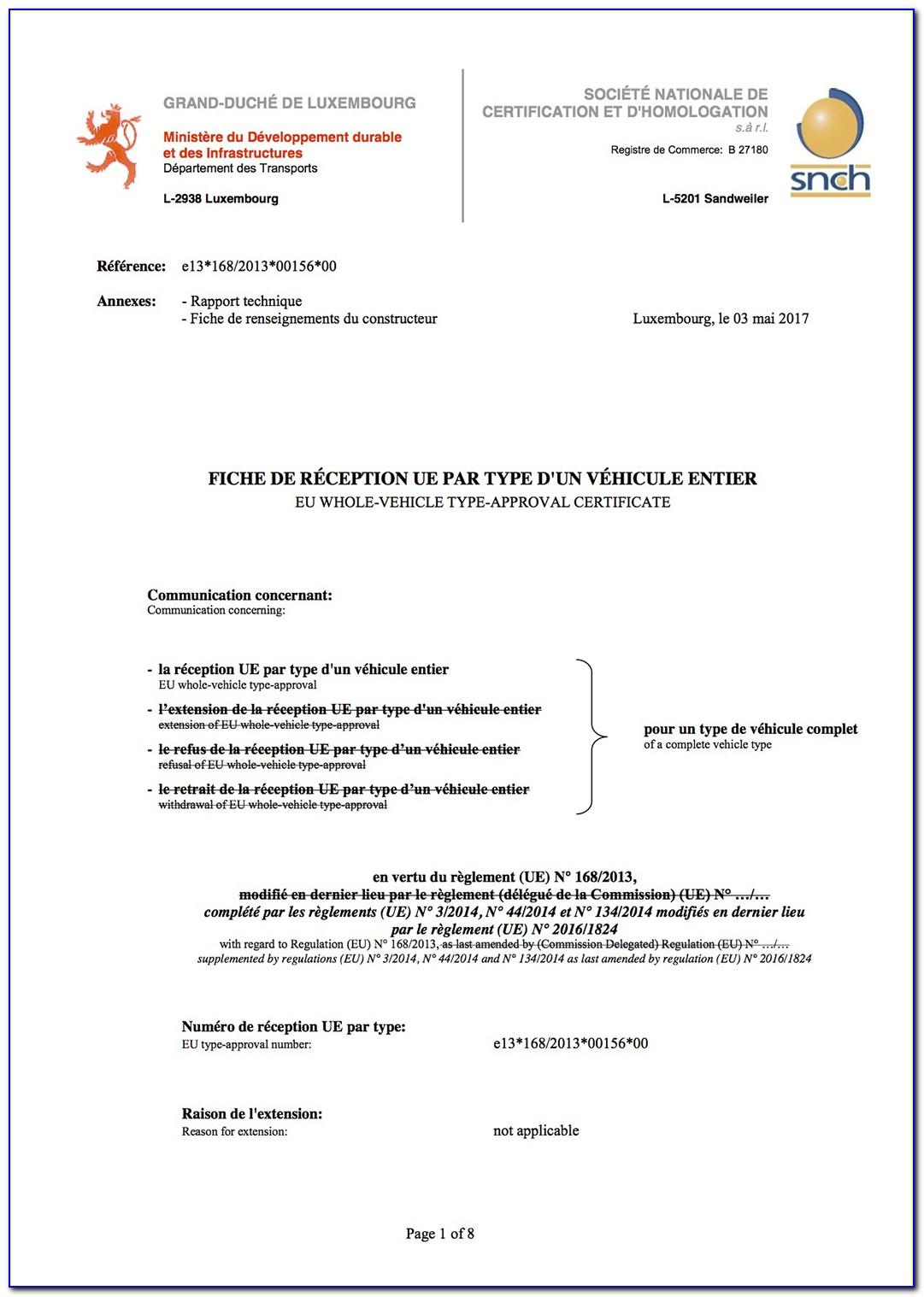 Eec Certified Ma