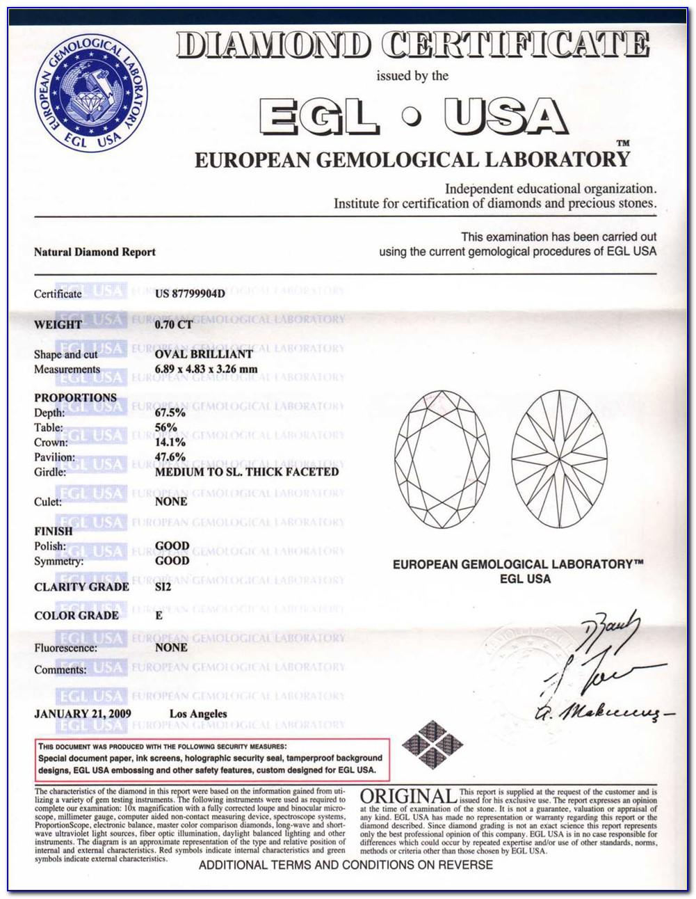 Egl Diamond Certification Companies