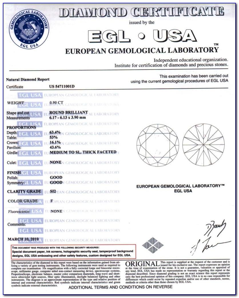 Egl Diamond Certification South Africa