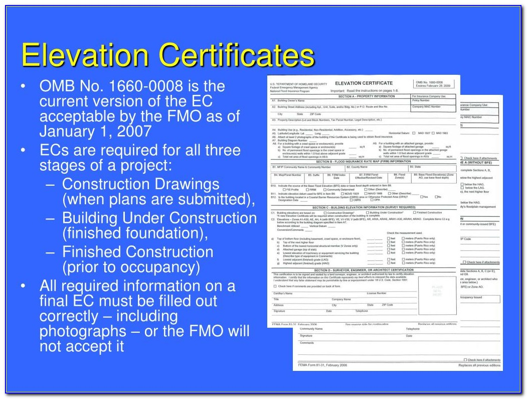 Elevation Certificate Houston Cost