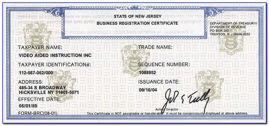 Esl License Nj