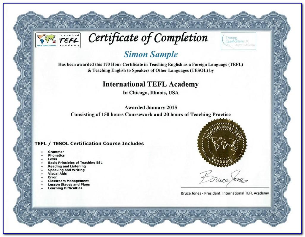 Esl Teacher Certification Programs Online