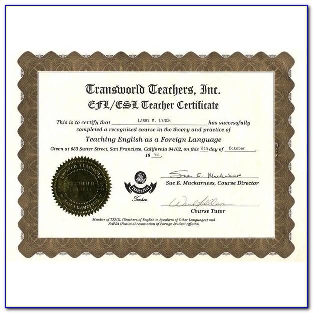 Esl Teacher Training Online Canada
