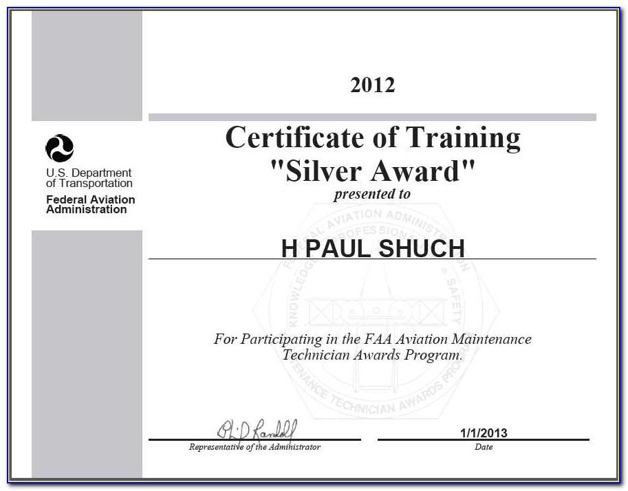 Faa Repairman Certificate Replacement