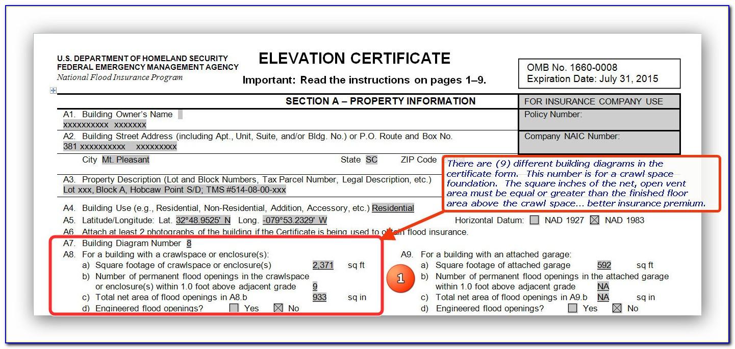 Fema Flood Certification Requirements