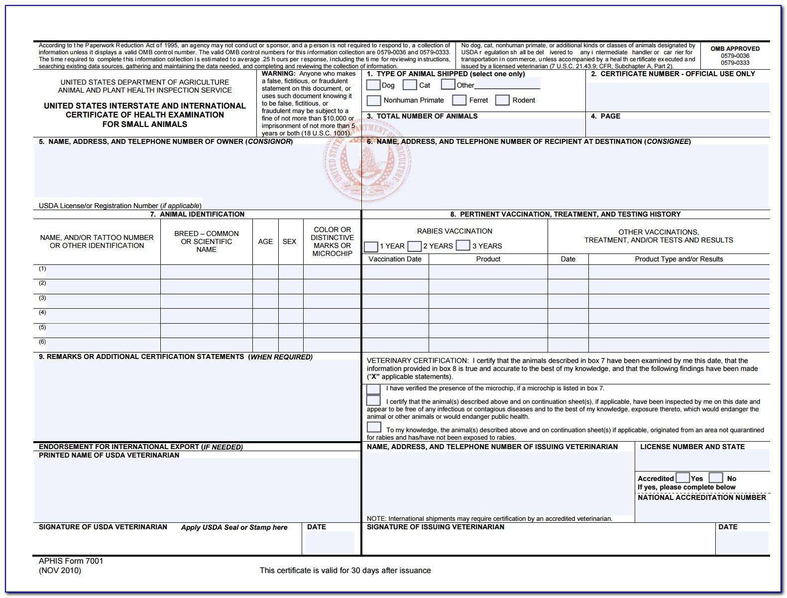Florida Certification Of Immunization Dh 680 Form (florida State Statute 1003.22)