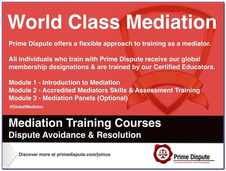 Florida Mediation Certification Course