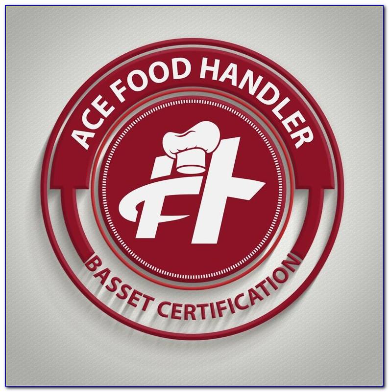 Food Handler Certificate Chicago