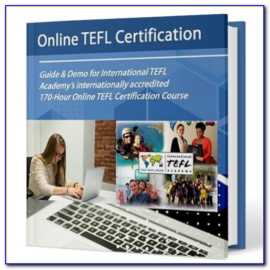 Free Tefl Certification Course