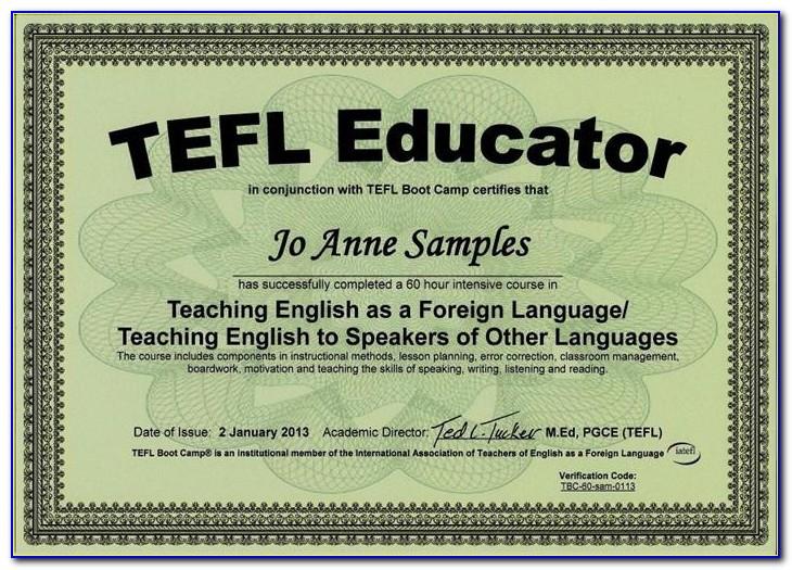 Free Tefl Certification Philippines