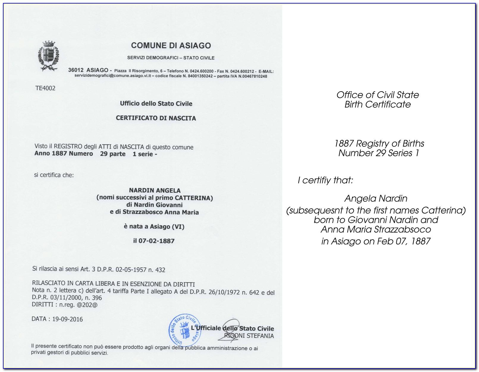 Get Birth Certificate Modesto Ca