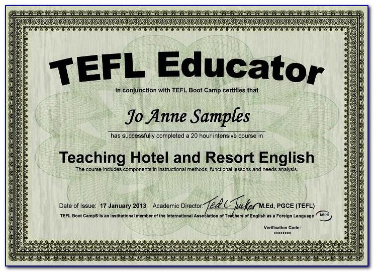 Get Esl Teaching Certificate Online