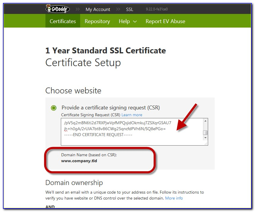 Godaddy Security Certificate Authority G2