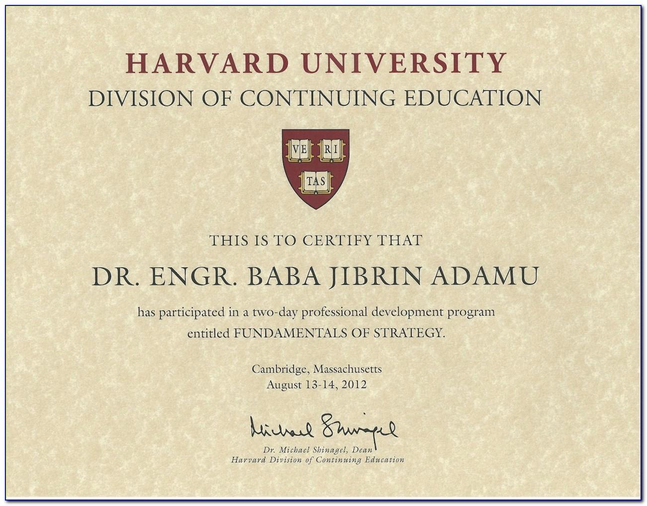 Harvard Cybersecurity Certificate Review