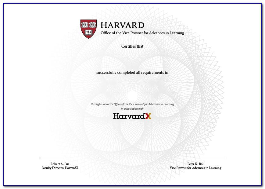 Harvard Extension Cybersecurity Certificate