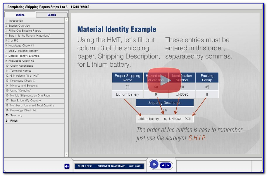 Hazmat Shipping Certification Ups